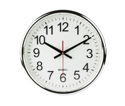 Clock isolated with clipping path