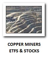 copper minners stocks and etfs